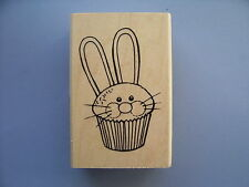 STAMPENDOUS RUBBER STAMPS EASTER CUPCAKE STAMP