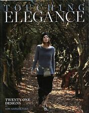 Touching Elegance - Kim Hargreaves Knitting Pattern Book -21 Designs Men & Women