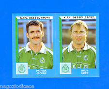 FOOTBALL 2000 BELGIO Panini-Figurina -Sticker n. 422 - K.F.C DESSEL SPORT -New