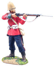 W Britains Zulu War 20071 British 24th Foot Standing Firing No.2