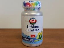 KAL Lithium Orotate 5 mg 90 ActivMelts Tablets