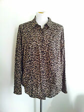 Effortless Style! Jones New York size 1X animal print top in excellent condition