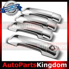 07-16 TOYOTA TUNDRA CREW MAX Chrome 4 Door Handle no Passenger Keyhole Cover