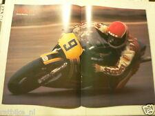 A292-RANDY MAMOLA HERON SUZUKI NO 9 BATES POSTER NO 3 MOTO GP