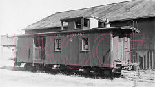 Pacific Coast Railway (PC) Caboose 2 (View 2) in 1937 - 8x10 Photo