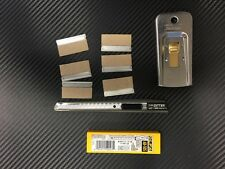 Window Film Tint Tools kit 18 - 1  Razor 6 blades 50 olfa blades 1 knife