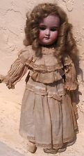 Antique Bisque Baby Doll German ? Fries & Schuele Ohio 18 Tall Dressed N/R 99.99