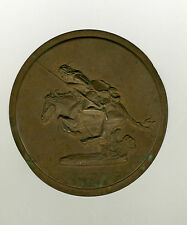 "VINTAGE Frederic Remington  ""The Cheyenne"" signed plaque scarce"