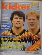 KICKER 82-10.10. 1994 Dortmund-Schalke 3:2 Köln-Dresden 1:2 THW Kiel Navratilova