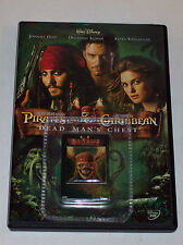 Pirates of the Caribbean Dead Man's Chest (DVD,2006, Widescreen)W/collectors Pin