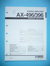Service Manual for Yamaha AX-496/AX-396 ,ORIGINAL