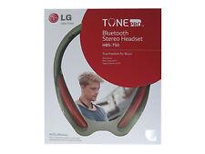 Cuffie Bluetooth Stereo Headset LG Tone Pro HBS-750 Originale Rosso Confezione
