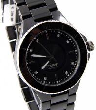 Esprit Collection Eirene Keramik Uhr schwarz EL101322F15 UVP*239,00 €    NEU