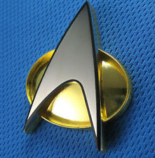 QMX Star Trek:Next Generation Costume Magnetic Communicator Pin- Metal