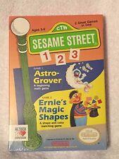 +++ SESAME STREET 123 Nintendo NES Game BRAND NEW SEALED +++