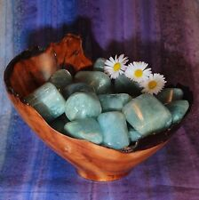 1 AQUAMARINE India Tumbled Stone - Consciously Sourced Healing Crystals