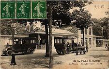 CPA Le Parc St-Maur La Gare - Les Autobus (390476)