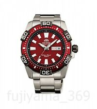 ORIENT SEM7R002H8 Watch Automatic Heavy sport Marin diver Red Express mail JAPAN