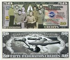 Limited Edition Star Trek 50th Fifty Year Anniversary Collectible Bill - NOVELTY