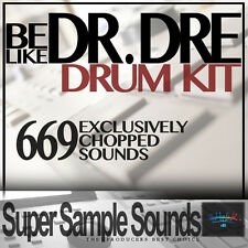 DR Dre come DRUM KIT IN VINILE Beats mpc60 SP1200 MPC 2.500 5.000 1000 CAMPIONI