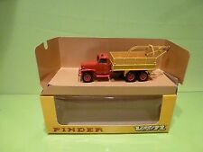VEREM V852  G.M.C. GMC CCKW 6x6 TRUCK- CIRCUS PINDER - RED 1:50? -  IN BOX