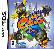 Ninja Captains - 20 Hilarious Party Games! (NDS Nintendo DS, 2009) New, Sealed