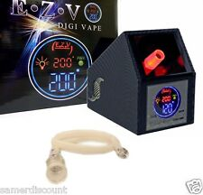 EASY VAPE EZV DIGITAL CARBON FIBER  LED SCREEN  ***  NIB( 110 v)unit