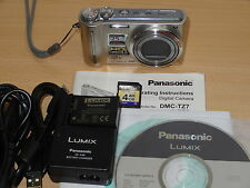 ** Panasonic Lumix dmc-tz7/dmc-zs3 10,1 MP cámara digital-Plata