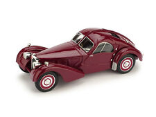 Bugatti Type 57-S Atlantic 1938 Bordeaux 1:43 Model BRUMM