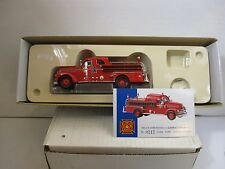1/50 SCALE CORGI SEAGRAVE ANNIVERSARY PUMPER COLUMBUS, OHIO FIRE ENGINE *DAMAGED