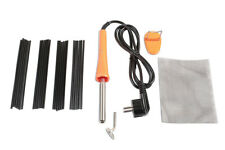 POWERTEC EURO VERSION PLASTIC WELDING TOOL KIT WELD REPAIR BROKEN PLASTIC PARTS