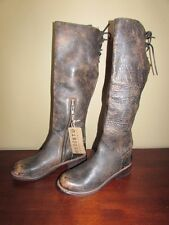 - BED STU  Cobbler Series Riding Leather Boots - NEW 6