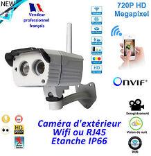 Caméra de surveillance compacte - Wifi extérieure - Etanche  IP66