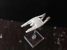 Babylon 5 Narn fighter Scale 1:270. Unpainted. Assembled
