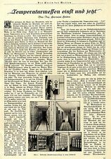 Ing.Herman Heiden Temperaturmessen einst und jetzt Elektrische Fernthermo...1924
