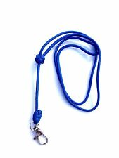 Turks Head Knot Design Royal Blue Dog Whistle Lanyard - For ACME Whistle