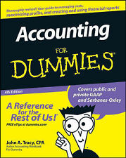 Accounting For Dummies by John A. Tracy (Paperback, 2008)