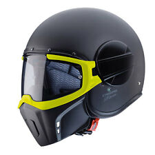 Casco Caberg Ghost mat black yellow fluo M helmet casque capacete helm moto