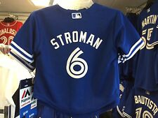Toronto Blue Jays Toddler Kids Age 3T Jersey Cool Base Marcus Stroman Alt 3rd