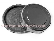 KIT TAPPO CORPO E RETROBIETTIVO PENTAX 6X7 67 BODY CAP REAR CAP CAMERA OBIETTIVO