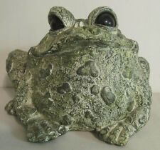Toad Hollow Large Resin Garden Patio Lawn Ornament Statue Frog Toad Figurine