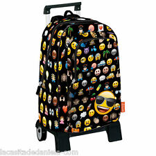 EMOJI ICON Mochila grande con carro ruedas /Trolley / Big rucksack with wheels