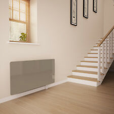 Cappuccino Glass Radiator Cover for The Hall - Small