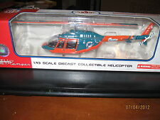 Miami Dolphins 2002 Bell Jet Ranger Helicopter NFL Footbal Fleer Collectibles