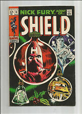NICK FURY AGENT OF SHIELD #10 Silver Age Grade 7.0 Featuring The Hate-Monger!!