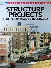 Kalmbach Advanced Structure Projects (Model Railroader Mag) #12478 SEE PICS