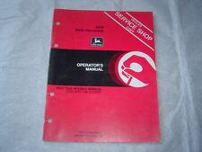 JOHN DEERE 4310 Harvester Operator's Manual