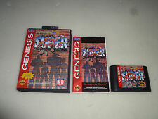 BOXED SEGA GENESIS GAME SUPER STREET FIGHTER II COMPLETE W BOX & MANUAL CAPCOM