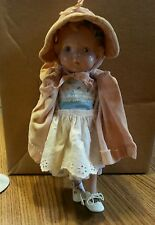 """Early Vintage Composition Doll. 13"""" Possibly from the 30's or 40's ?"""