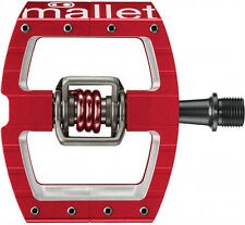 Crank Brothers Mallet DH Race Pedals Clipless MTB Mountain Bike Downhill Red